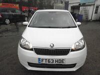Skoda Citigo 1.0 MPI SE 5dr 2014 (63 reg), Hatchback £3000