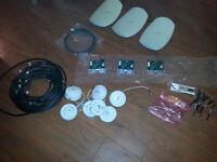 3 com job lot: antenas, cards, cables, access points etc