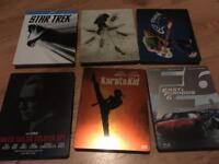 Blu ray rare steelbooks, hurt locker star trek