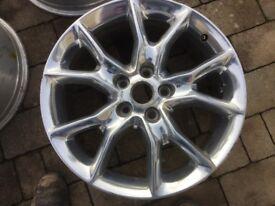 Jeep Grand Cherokee 20inch alloy wheels chrome 2012 2014