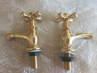 Vintage Gold Taps - New
