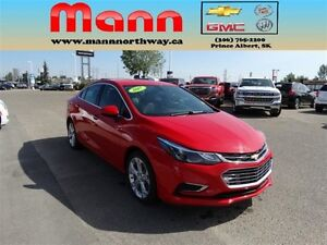 2017 Chevrolet Cruze Premier - Remote start, Heated seats, Rear