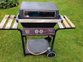 Pro chef gas barbecue.