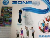Zone 40 Wireless Gaming Console. Wireless gaming console for the whole family. 40 built in games