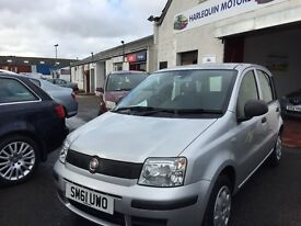 Free Delivery***2012 FIAT PANDA 1.2L PETROL Low Miles(8657) £30 Road Tax Year Mot***Free Delivery