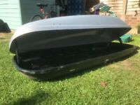 470L Halfords Roof Box - Excellent condition