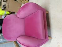 Beautiful New Next velvet chair