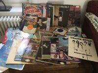 50 vintage LPs plus singles