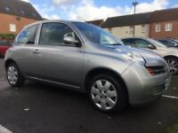2005 AUTOMATIC NISSAN MICRA LOW MILEAGE @47K
