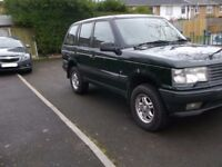 1995 RANGE ROVER P38 4.6 HSE MOTED AND READY TO USE