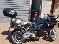 2012 BMW R800ST only 5293 miles complete with Panniers,Top Box,Tank Bag,GPS Tracker and alarm system