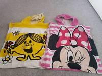 Girls hooded towels