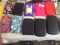 BRAND NEW PHONE COVERS BLACKBERRY/I PHONE AND SAMSUNG AND OTHER BRANDS