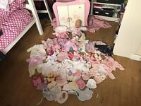 Baby Annabelle doll wardrobe and accessories