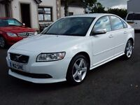 2009 Volvo S40 R-DESIGN 1.6 petrol only 53000 miles, moltd august 2017