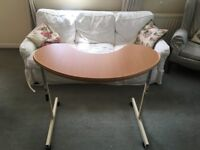 Overchair table for sale