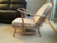 Ercol vintage fireside chair