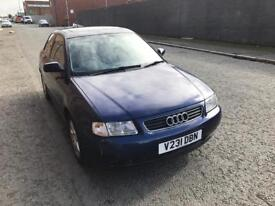 1999 AUDI A3 1.8 TURBO SPORT 3DR IN BLUE