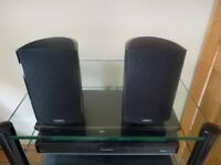 Pair of Definitive Technology Pro 800 Speakers with Bass Radiators