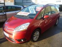 Citroen C4 GRAND PICASSO VTR+ HDI A ,7 seat MPV,FSH,full MOT,tow bar,great family car,CV58KUS