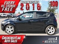 2012 Chevrolet Sonic LTZ W/ Heated Leather-Sunroof-Low KM's-Turb