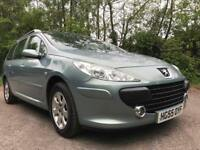 PEUGEOT 307 1.6 SW **ONLY DONE 38K** AUTOMATIC** MOT EXPIRES NOVEMBER 2019** FULL SERVICE HISTORY**