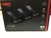 Idect landline triple phone