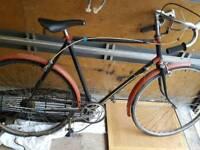 vintage James racing bike