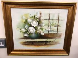 Beautiful oil on canvas in pristine condition. Signed