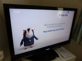 """Toshiba Regza 40"""" tv with full HD Freeview."""