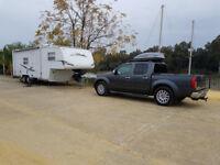 American 5th Wheel Caravan package including Nissan Navara V6 Tow Vehicle