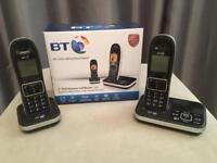 BT dual cordless phones with answer machine 7610