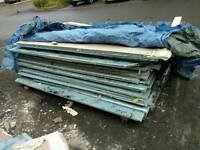 Acoustic plasterboard used job lot