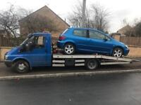 Scrap cars van 4x4 wanted