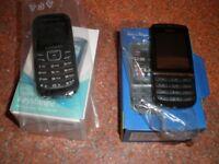 2 MOBILE PHONES SPARES OR REPAIR -------NOKIA ASHA 300-----SAMSUNG KEYSTONE 2