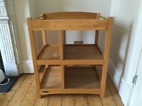 Baby Changing Table - Mamas & Papas - Solid Beech Wood