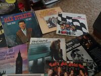 Various albums 1950's Liberace, Perry Como, Val Doonigan classical music