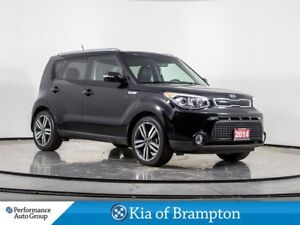2014 Kia Soul SX. LEATHER. CAMERA. BLUETOOTH. HTD SEATS. ALLOYS