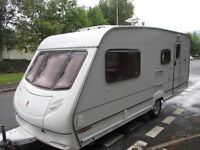 Ace Jubilee 4 berth 2002 model with end shut off wash room