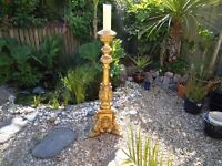 Large Baroque Style Candle Stick