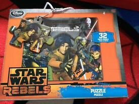 Star Wars puzzle as new
