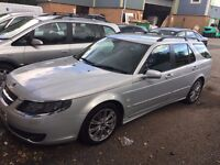 SAAB 9-5 1.9 TiD VECTOR SPORT ESTATE FSH 12M MOT HPI CLEAR EXCEPTIONALLY CLEAN VEHICLE FULL LEATHER