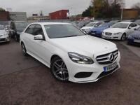 Mercedes-Benz E Class E300 Bluetec Hybrid Amg Sport (white) 2014