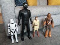 "13"" Star Wars action figures"