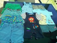 Baby boy shorts bundle 3-6, 6-9 months.