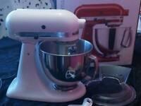 Kitchen aid freestanding mixer