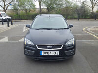 2007 Ford focus 1.6 Black 5dr hatchback Auto Petrol MOT AUG 2017 2 owners full service history