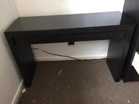 Ikea Dressing Table and Glass Top