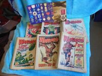 Vintage Warlord Comic Collection 1974 No 1 with free Gift
