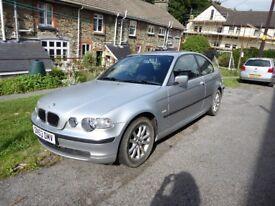BMW 316 SE Compact 2004 - 12 Months MOT